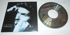 "George Michael CD Single Faith Hard Day (Remix) 5"" Cardsleeve 3 Tracks WHAM!"