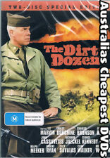 The Dirty Dozen/Dirty Dozen Next Mission 2DISC DVD NEW, FREE POST IN AUS REG ALL