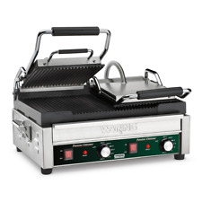 Waring WPG300 Panini Toasting Grill with Dual Ribbed Plates 240V