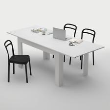 Table extensible Cuisine, Easy, Frêne blanc, 140 - 220X90X77cm