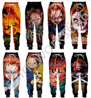 Childs Play Chucky 3D Print Casual trousers Men Sweatpants Sport Jogging Pants
