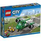 LEGO CITY 5-12 ANNI AIRPORT CARGO PLANE AEREO DA CARICO 157 PARTI/PCS ART 60101