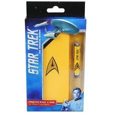 ORB Star Trek iPhone 5 Protective Case / Cover and Stylus - Yellow