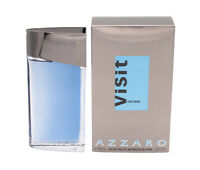 Azzaro Visit by Azzaro 3.4 oz EDT Cologne for Men New In Box