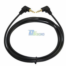 "1m 3FT TRRS 3.5mm 1/8""  Male to Male Stereo Audio Gold Plated Power Cord Cable"