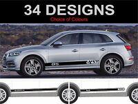 Audi Q5 Seitenstreifen Aufkleber Sticker Grafik Seitenstreifen