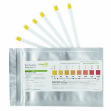 Total Water Hardness Test Strips Kit x 10  Drinking Water Softener Testing Setup