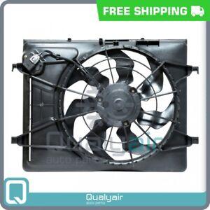 AC Radiator-Condenser Fan fits Hyundai Elantra QU