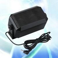 RoadPro RPSP-15 Car External Mobile Radio CB Speaker 3.5mm Plug High-Performance