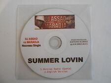 DJ ASSAD vs MARADJA : SUMMER LOVIN ( 2 VERSIONS ) [ CD SINGLE ] ~ PORT GRATUIT !