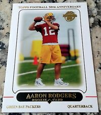 AARON RODGERS 2012 Topps Reprint 2005 Rookie Card RC LOT of 3 HOT Superbowl MVP