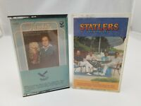 Country Cassette Tapes Set of 2 The Kendalls & Statler Brothers Greatest Hits