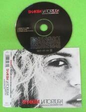 CD Singolo SHAKIRA LA TORTURA 2005 EPIC 675933 2 no mc lp vhs dvd (S33)