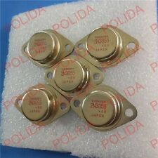 10PCS TRANSISTOR TOSHIBA TO-3 2N3055 100% Genuine and New