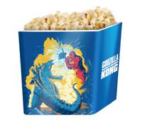 Godzilla Vs Kong 2021 Movie Monster King Kong Popcorn Tin Bucket 64oz Exclusive