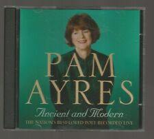 PAM AYRES - Ancient and Modern - AUDIO BOOK - 2 CDS - Recorded Live