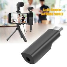 3.5mm Audio Adapter Connector for DJI OSMO Pocket Handheld Gimbal Camera