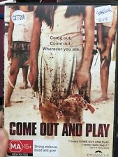 Come Out And Play ex-rental region 4 DVD (2012 Mexican horror movie)