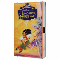 Disney Authentic Hunchback of Notre Dame Movie VHS Case Womens Clutch Wallet NWT