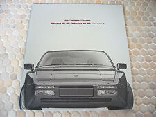 PORSCHE OFFICIAL 944 S2 COUPE CABRIOLET PRESTIGE SALES BROCHURE 1991 USA EDITION