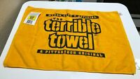 Terrible Towel NFL Pittsburgh Steelers Myron Cope Official Gold Towel
