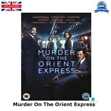 Murder On The Orient Express [2017] Johnny Depp, Kenneth NEW SEALED UK R2 DVD