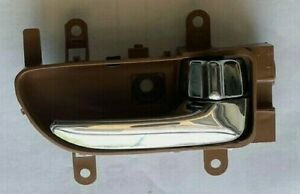 for Nissan Murano 2006-2007 Inside Right Handle Chrome Lever with Brown Housing