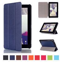 Slim Leather Flip Folio Smart Case Stand Fr Amazon Kindle Fire HD 7 2015 Tablet