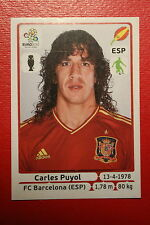 Panini EURO 2012 N. 289 ESPANA PUYOL NEW With BLACK BACK TOPMINT!!