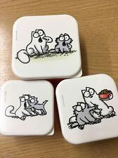 Simon's Cat - Set of 3 Nested Stack Pots by Portico