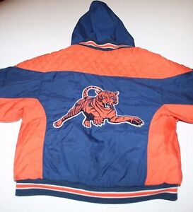 Vintage 1980s Auburn Tigers Layered Hooded Jacket Coat Size Youth 5 Small RARE