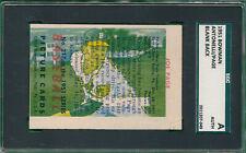 ANTONELLI PAGE 1951 BOWMAN BLANK PACK DOUBLE PRINT SGC AUTHENTIC #217 ERROR CARD