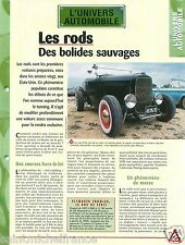 Hot Rod Plymouth Prowler Tunning V8 Ford Chevrolet Custom USA Car FICHE FRANCE