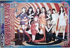 "GIRLS' GENERATION ""WEARING SEXY RETRO DRESSES, 60's BOOTS & GUNS"" POSTER"