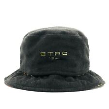 Etro Cotton Two-Way Bucket Hat Sz L Unisex