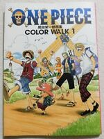 ONE PIECE Color Walk 1 Eiichiro Oda Image Illustration Art Work Book Japan F/S