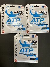 Tecnifibre ATP Razor Code 1.30MM/16G Tennis String (Carbon )