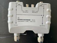 ROHDE FSH Z3 Vswr BRIDGE 10 MHz ... 6 GHz (FSH 6)
