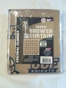 Central Florida Knights Fabric Shower Curtain