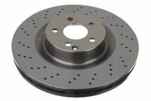 Fits To MERCEDES-BENZ S320 2005-2012 PAIR Of Front Brake Discs 350 MM