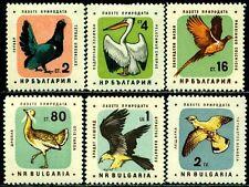 Briefmarken mit Vögel Thema aus Bulgarien