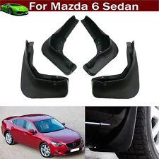New 4x Mud Flap Splash Guard Fender Mudguard Mudflap For Mazda 6 Sedan 2013-2019