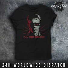Ill Be Back T Shirt Terminator Arnold Schwarzenegger I ll Be Back