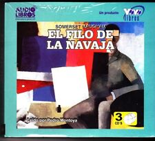 El Filo de la navaja by Somerset Maugham (Audio Libro) NEW / SEALED