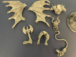 warhammer 40k greater daemon prince khorne bloodthirster metal