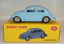 Dinky Toys (atlas) 1/43 nº 181 oval escarabajo/beetle azul claro reedición OVP #1614