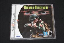 HIDDEN & and DANGEROUS US NTSC Import SEGA DREAMCAST NEU in  Folie!!! RAR!!!