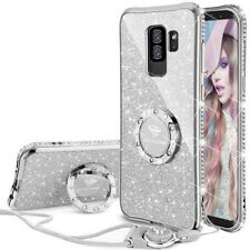 Galaxy S9 Plus Case, Glitter Bling Diamond Rhinestone Bumper Cute Galaxy S9 Plus