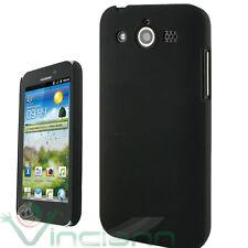 PELLICOLA+Custodia back cover NERA per Huawei HONOR U8860 protezione rigida