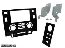 Land Rover Defender 2012 on Shiny Black Double Din Car Stereo Facia Fitting Kit